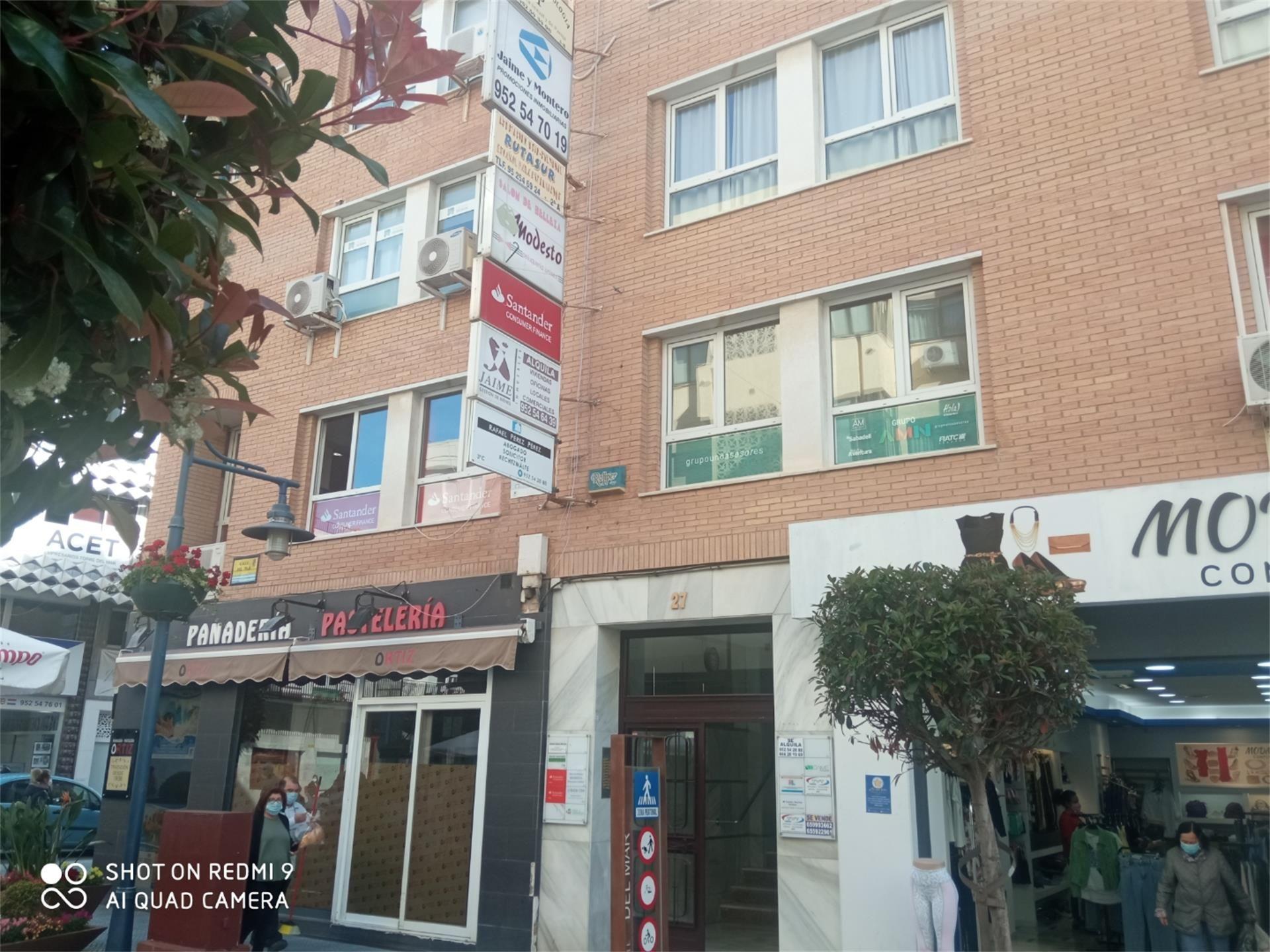 Oficina de alquiler en Calle del Mar, Centro (Torre del Mar, Málaga)