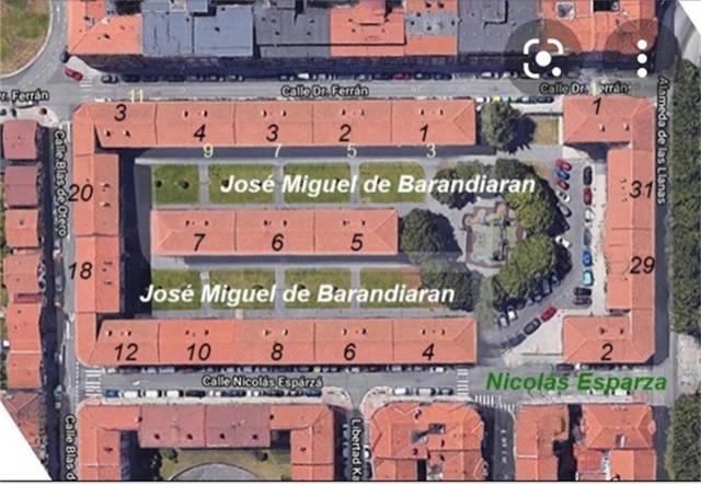 Piso en Venta en Plaza Jose Miguel Barandiaran de